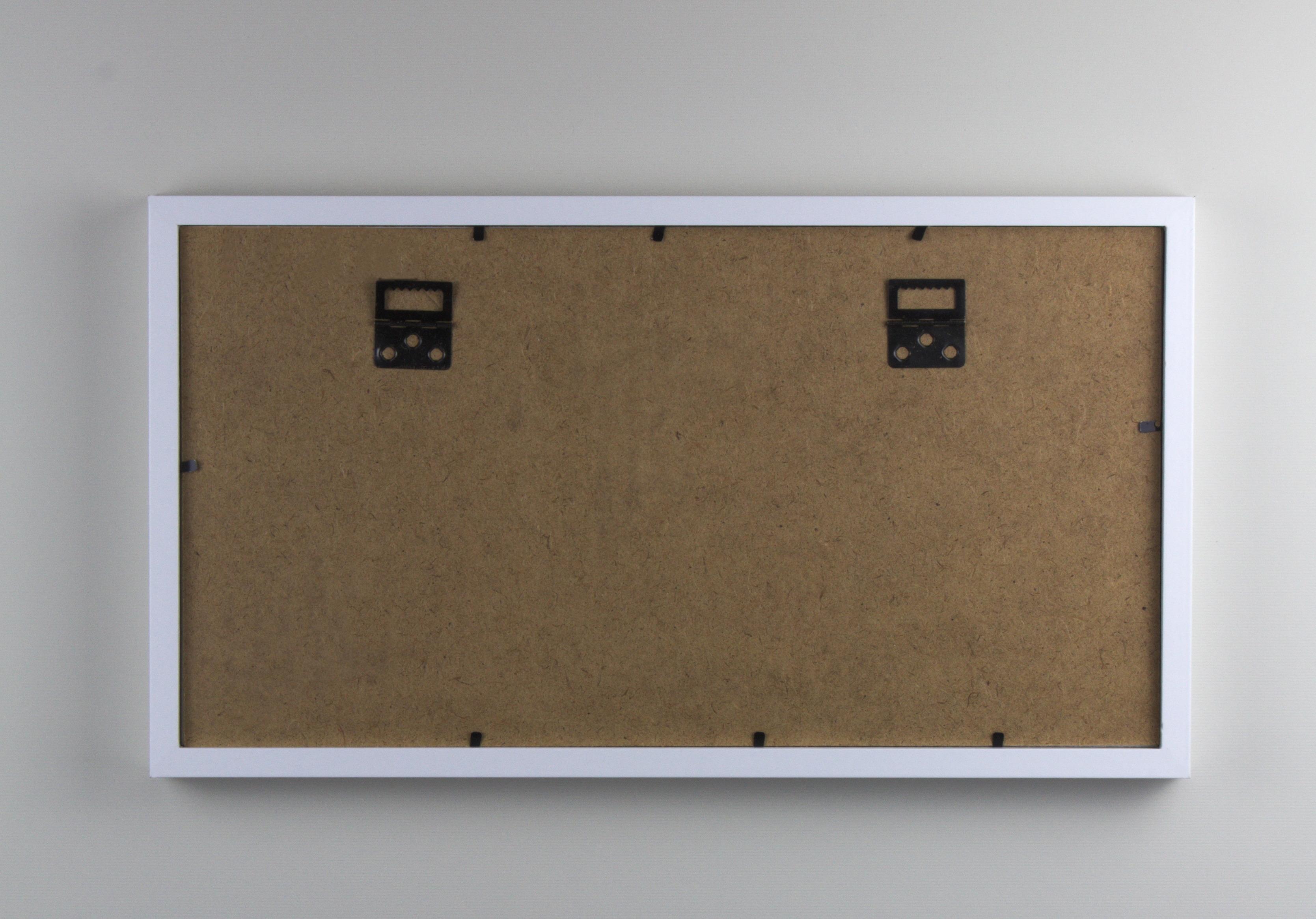 Nereus Fotorahmen Wäscheleine 24 x 43 cm für Format 10 x 15 cm