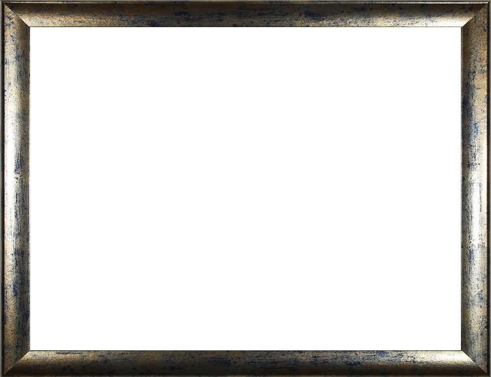 Colorado Bilderrahmen ab 18 x 24 cm Blau Gold meliert Verglasung | eBay
