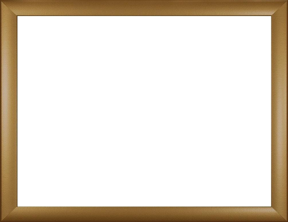 Colorado MDF-Rahmen, Größenwahl, Antireflex-Acrylglas 1mm: gold ...