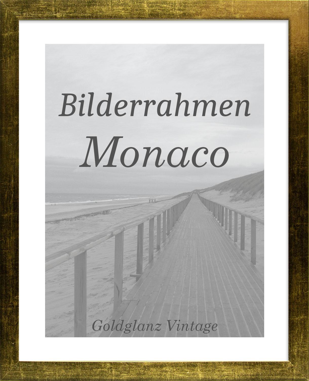 Bilderrahmen Monaco 25x33 cm Foto Poster Puzzle Galerie 33x25 cm