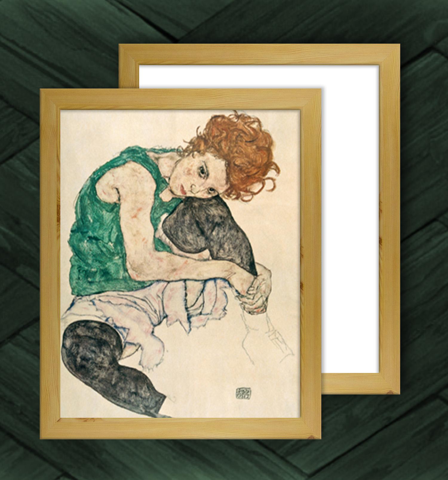Bilderrahmen Misano 55x55 cm Rückwandfarbe und Verglasung wählbar