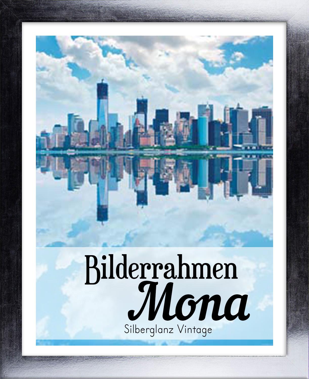 Mona 42 x 55 cm Bilderrahmen Homedeco 24 Holzwerkstoff Wahl Farbe Verglasung