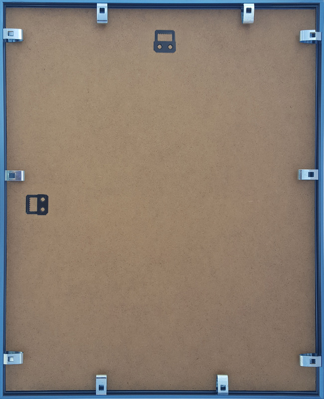 Ottawa Aluminium Bilderrahmen: stahlblau in verschiedenen Größen | eBay