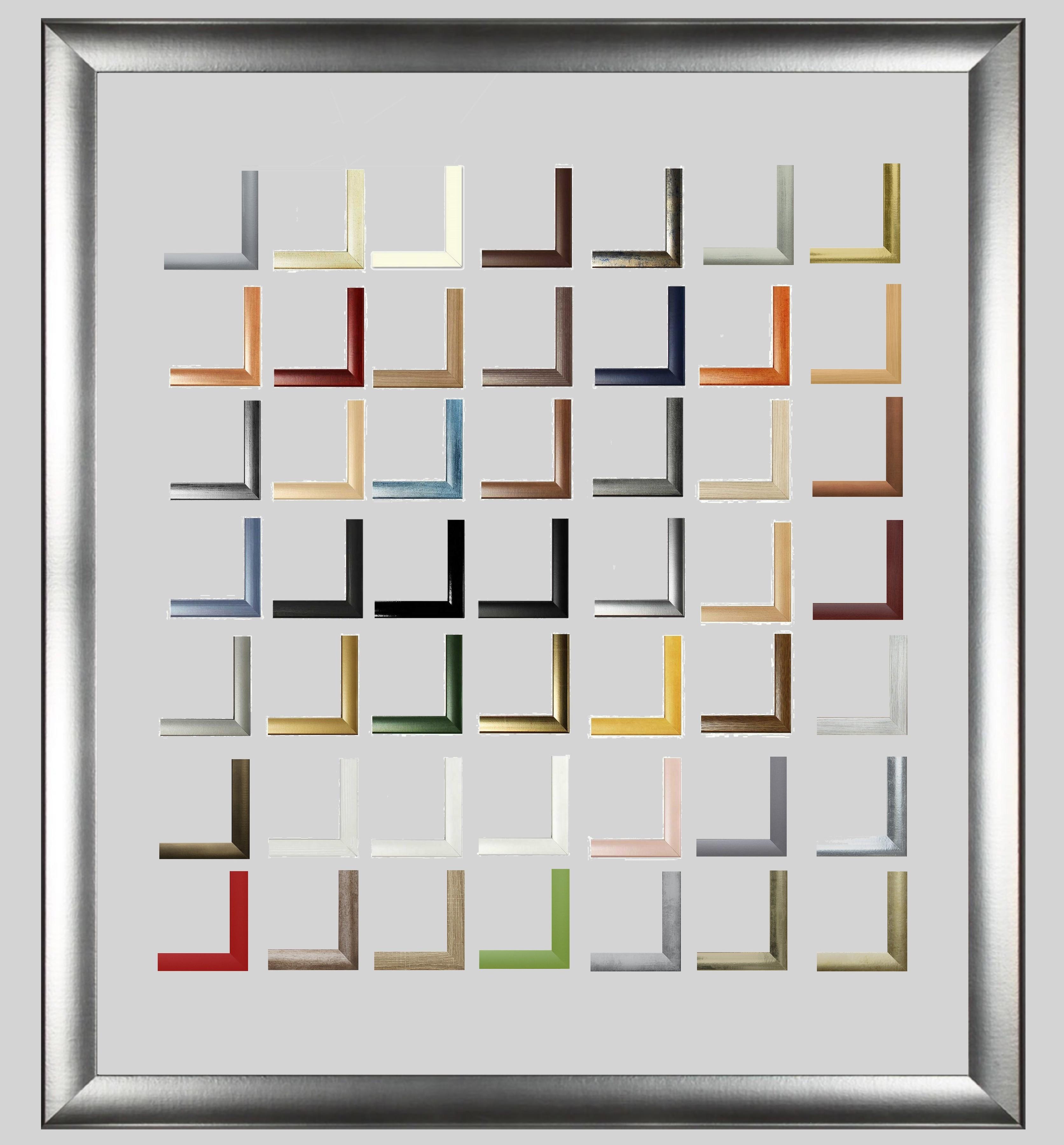 Valentia Bilderrahmen ab 24 x 30 cm Farbwahl Verglasung | eBay